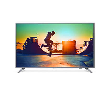 "TELEVISOR LED 55"" y 65"" 4K SMART TV / LINUX / WIFI-MIRACAST PHILIPS"