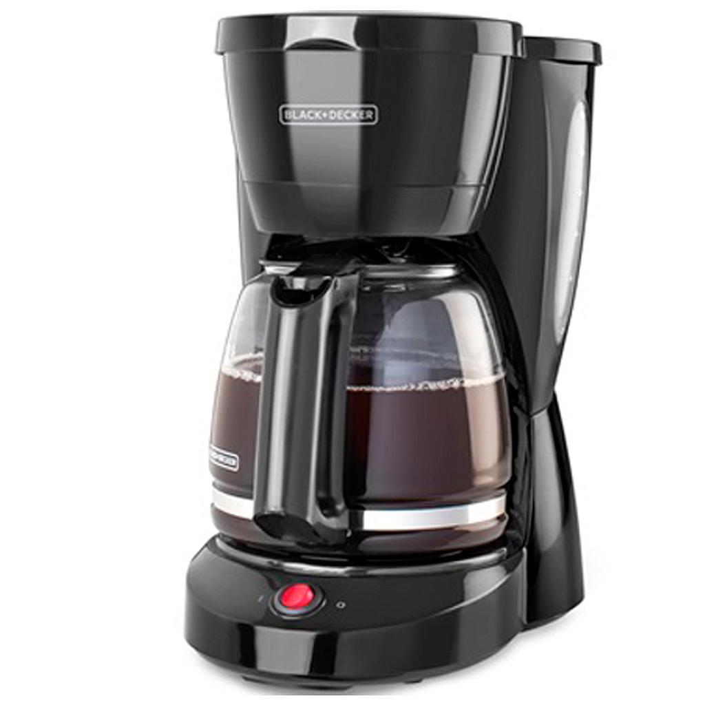 CAFETERA PARA 12 TAZAS PROGRAMABLE BLACK AND DECKER
