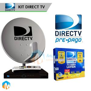 Kit Prepago Directv HD